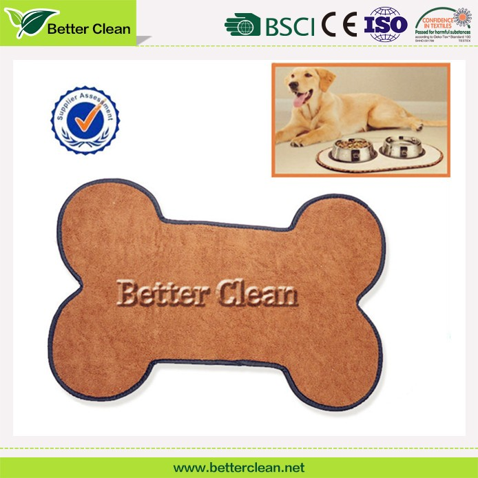 hot selling pet place mat for home flooring microfiber dog pee pad