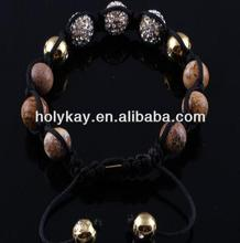 new ideas for 2014 fashion custom rope handmade thread bead bracelets