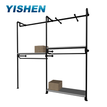 Clothes hanging system/wall rack for clothes/wall hanging clothes rack