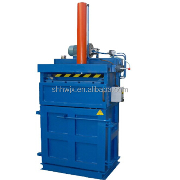 Hydraulic baling press machine vertical cardboard baler cotton baling press