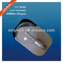 SYW 2013 hot sale Clear Glass cover led light bulb, 360 degree 10w bulb led