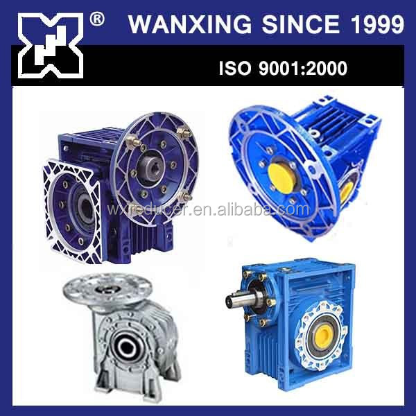 customized worm gearbox steel worm gear box small gear reducer motor