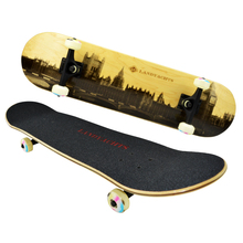 31*7.75 inch 7 ply Canadian Maple skateboard double kick concave wood skateboard complete