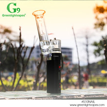 Greenlightvapes newest released products dry herb vaporizer g9 510Nail