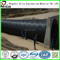galvanized steel pipe road culverts tube9 tunnel liner plates Stainless steel corrugated pipe