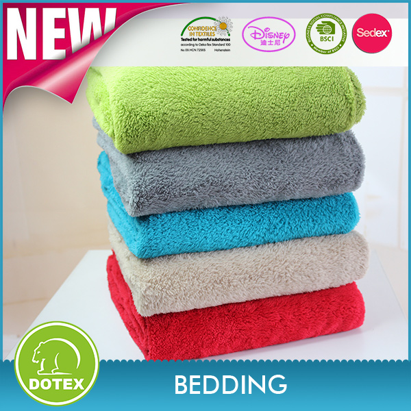 Avon In Cooperation Can Be Portable High Quality Super soft Fabric coral fleece For Baby Blanket