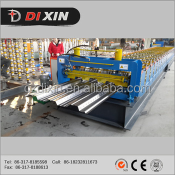 Roll Forming Machine - Metal Decking made in china