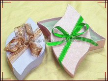 different shape /fish shape paper box with clear window for gift packaging