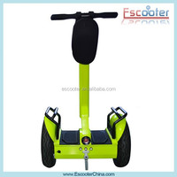New product 2 wheels standing powerful handicap electric vehicle with foot plate light indicator
