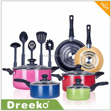 15 Piece Pots and Pans Performance Durable Nonstick Cookware Set
