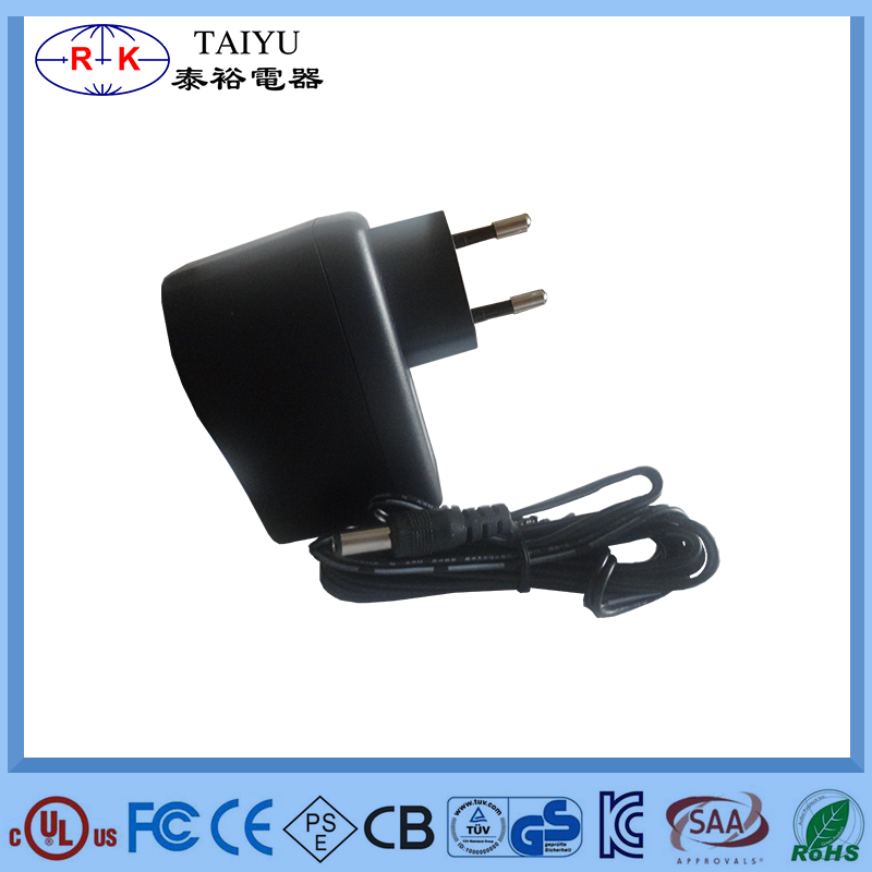 24W power adapter 12V 2A for l with UL SAA CSA PSE FCC KC CE GS