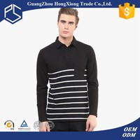 High quality different types of sweat absorbing tall mens stand collar long sleeve t shirts