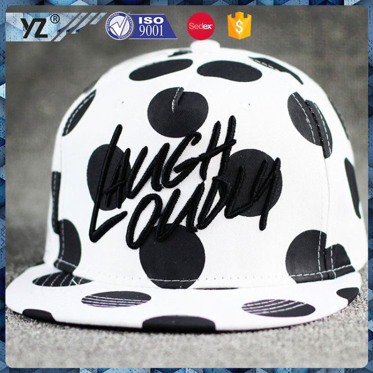 Latest arrival novel design custom 6 panel fedora snapback hats for promotion