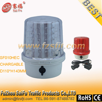 rechargalbe EMERGENCY VEHICLE STROBE LED WARNING BEACON LIGHT