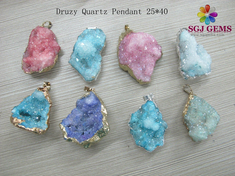 Newest useful turquoise gemstone pendant jewelry
