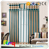 Home curtain/ sofa/cushion fabric Pure stripe Chenille jacquard style