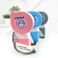 The second generation Snowman Mini Pocket USB mini fan air-conditioning fan mute creative mini air conditioner