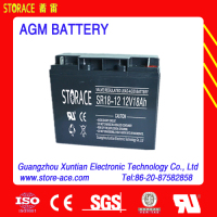 12v 18ah UPS lead acid battery (SR18-12)