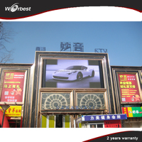 P10 Outdoor led big screen Full Color And Video Display Function Led Pantallas Exterior