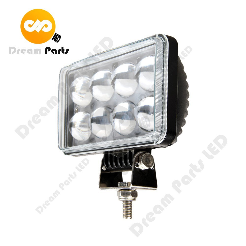 24w square truck led driving light 12v 24v auto lamp spot beam led work light for jeep off road tracktors