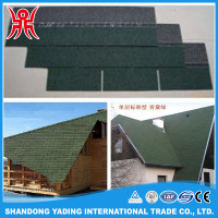cheap construct roofing material coloured glaze architectural bitumen shingles price for wholesales
