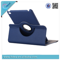 360 Degree Rotating Case For iPad mini 4 PU Leather Case with Card slot function
