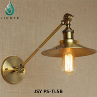 Metal black industrial swing arm wall sconce lamp light fixture swing arm lamp