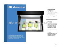 3D showcase 3d holographic Hologram displayer showcase for trade show