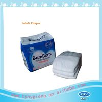 Daily care adult diapers in blue distributors