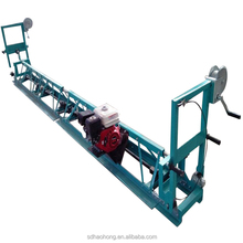 High standard of truss screed road leveling machine with manual operation