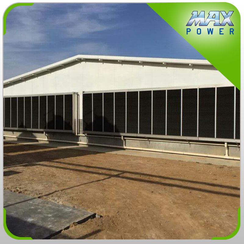 Breathable poultry shed air cooling equipment