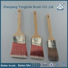 New design silk touch wholesale wooden handle paint brush with high quality