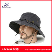 2013 promotional fisherman fashion cap/hat/bucket cap/hat with string for men