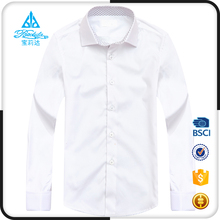 Child clothes pure white shirt boy, latest flower shirt designs for boys
