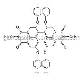 1,6,7,12 - tetra -t -butylphenoxy - N - N' - dioctyl-perylene - 3,4,9,10 - tetracarboxylic dianhydride
