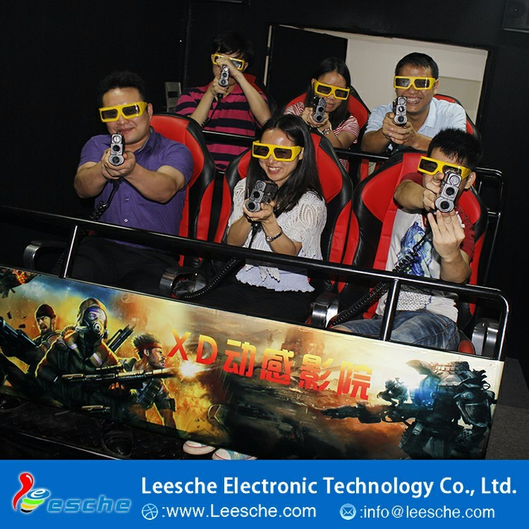 New Digital Movie Factory Business Investments Satisfied Amusement Park 7D Mobil Cinema System