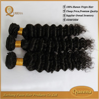 Different types of curly weave hair,mongolian kinky curly hair,brazilian deep wave hair