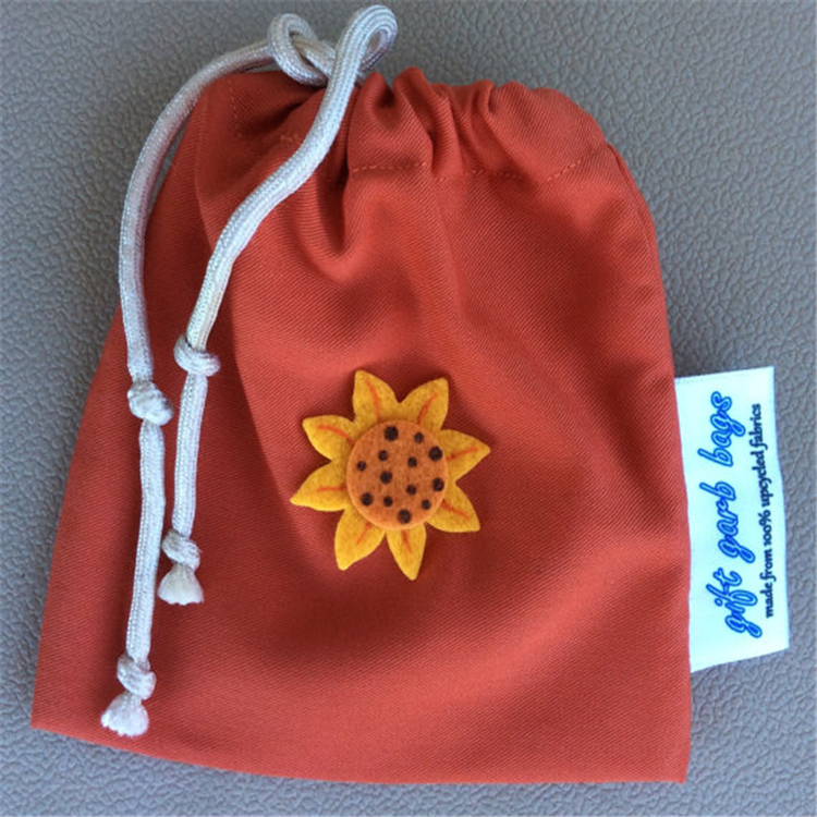 Promotional Mini Jewelry Drawstring Pouch Bag