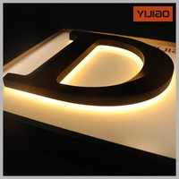 Mini backlit crystal 3d channel letters