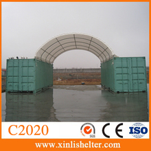 Equipment storage dome steel warehouse