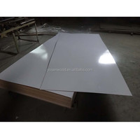 4*8 feet white melamine faced MDF board 2.5mm 3mm white melamine MDF sheet