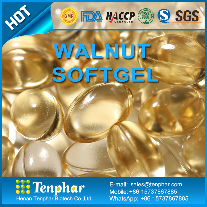 Hot Sale Walnut Oil Hard Capsules