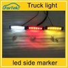 Auto accessories led truck light led side marker lamp for trucks