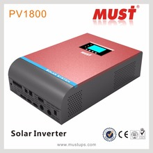 Must power PV1800 series high frequency 3kva-5kva pure sine wave solar offgrid inverter with built-in charge controller