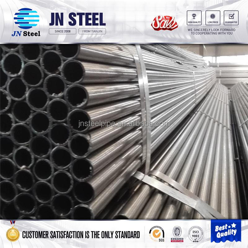 ASTM A53 Structure erw welded 6 inch black schedule 80 round steel pipe