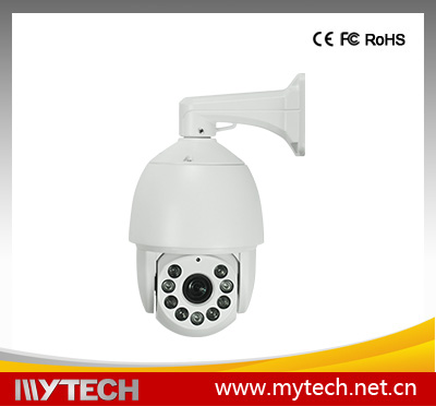 Outdoor 360 Degree Rotating 1/3 Sony CCD PTZ Dome Security Camera