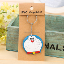 3D Custom Logo on Rubber PVC Key Chain for Promotion Gifts and USB and Car Key Chain