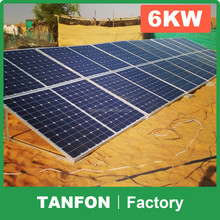 Portable solar panels 1000W 2000W 3000W 5000W 10KW hot sales solar power system for small homes the solar system price