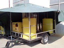 Mobile Drinking Water Treatment Equipment with trailer and power generator