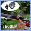 18650 Battery 5 CREE XML T6 LED Bike Light Headlamp with Charger